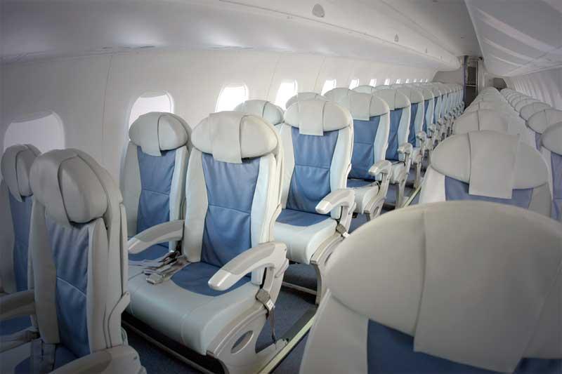 Business Class med LOT Polish Airlines København - Warszawa-4