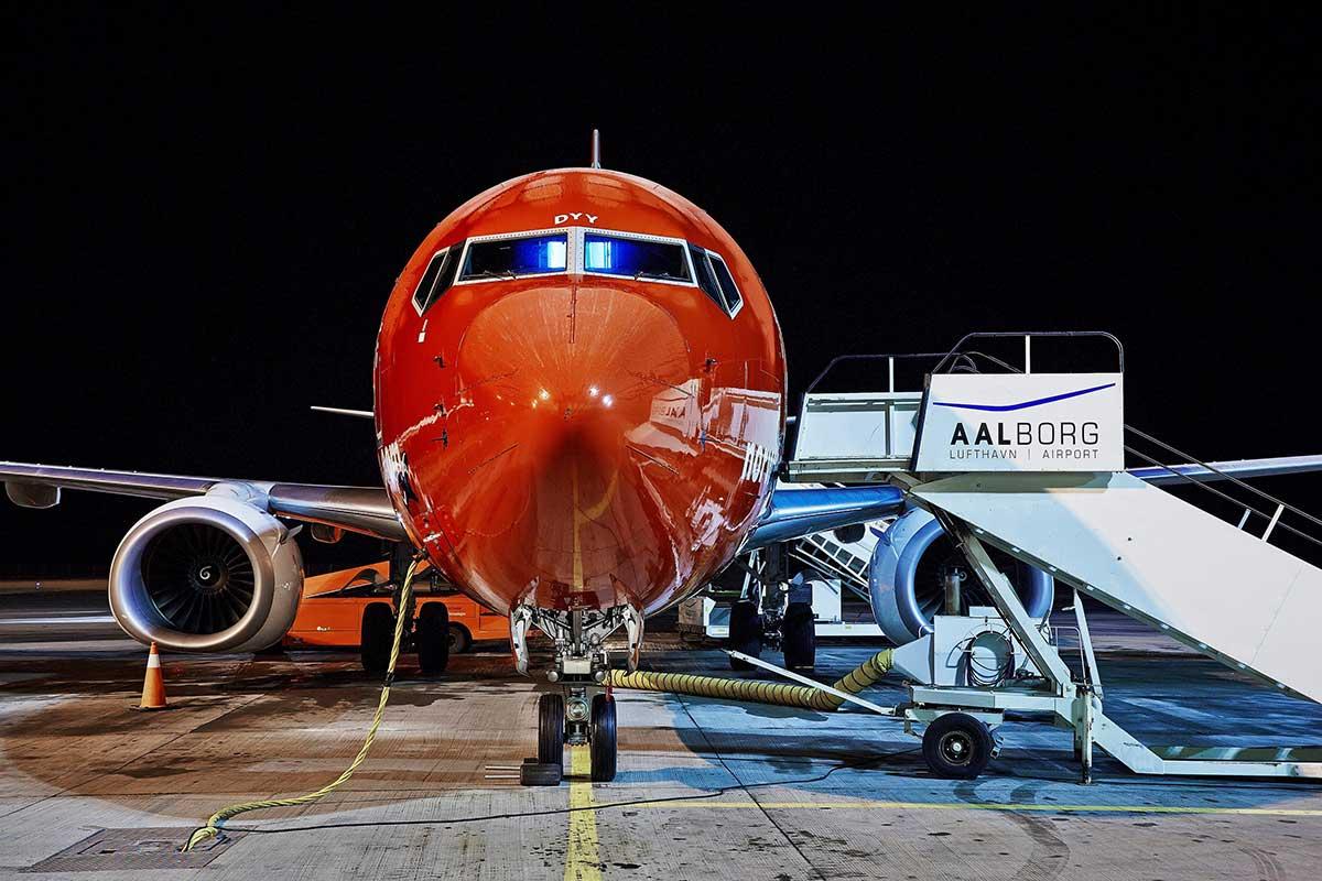 Norwegian fly i Aalborg Lufthavn (foto: Aalborg Lufthavn /PR)