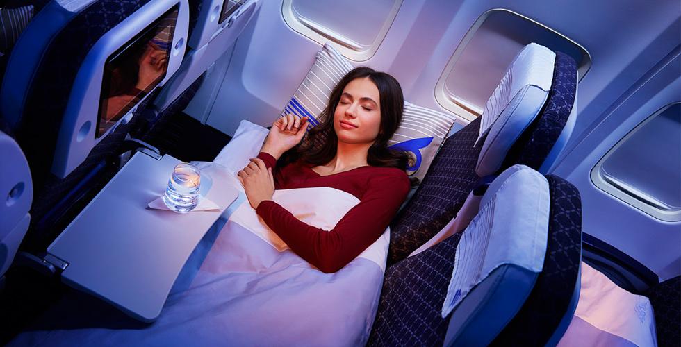 Air Astana Economy Sleeper Class