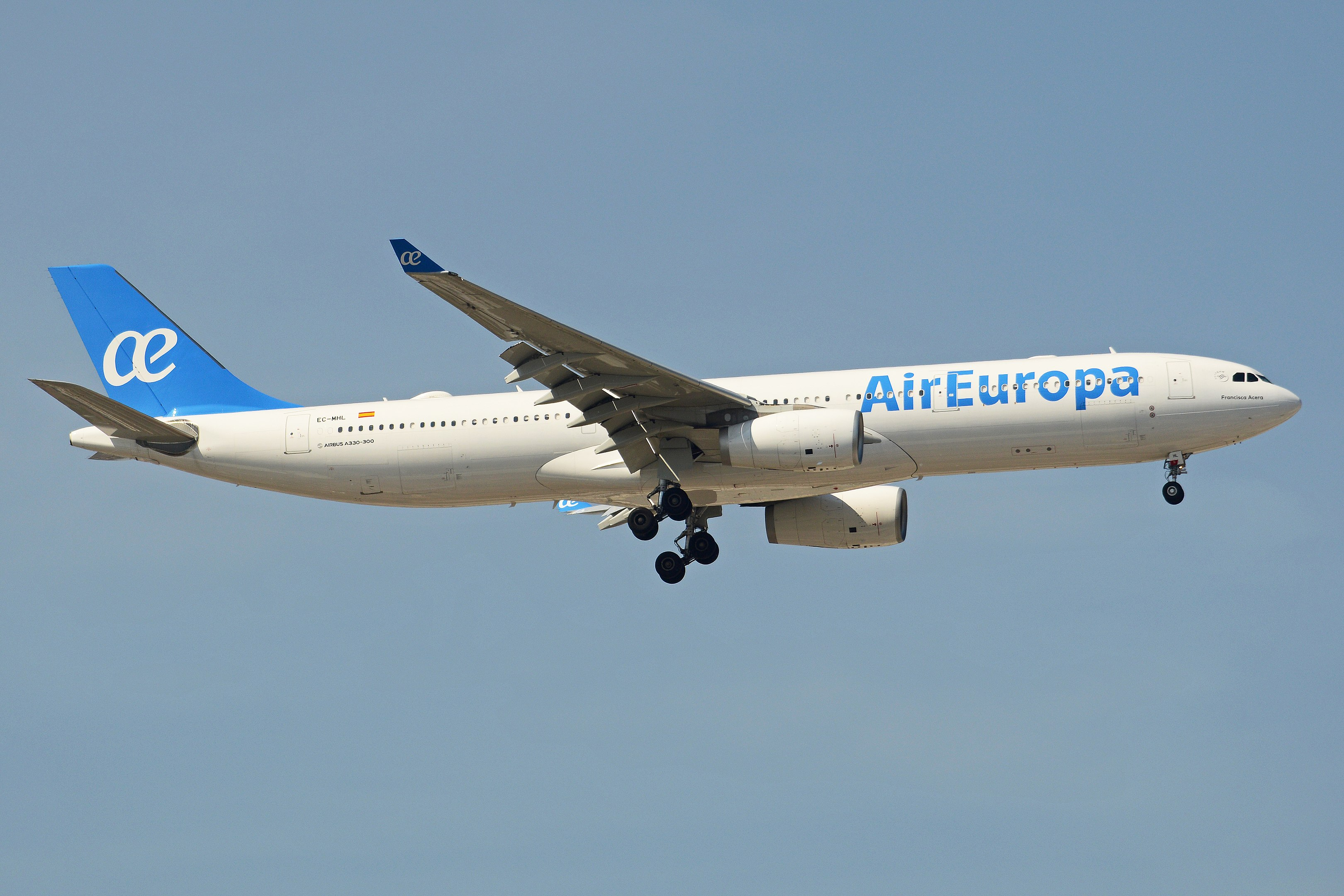 Air Europa sender de store fly til København (Foto: Alan Wilson, CC BY-SA 2.0, https://creativecommons.org/licenses/by-sa/2.0)