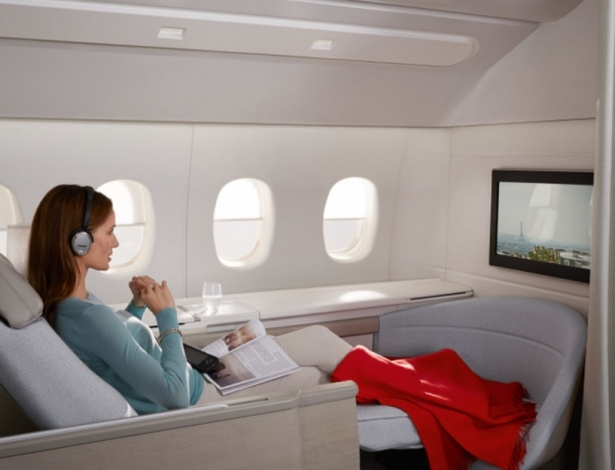 Air France First Class La Premiere NEW seat