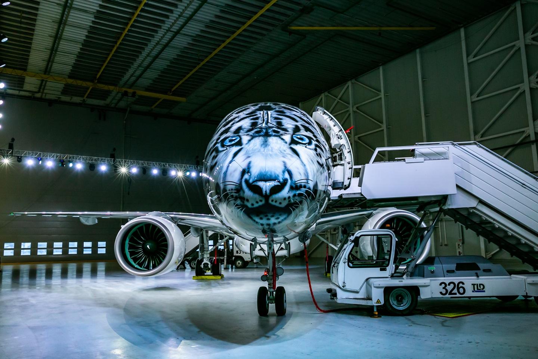 Air Astana Sneleopard Embraer E190