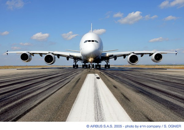 Verdens største passagerfly, Airbus A380 (foto: Airbus)