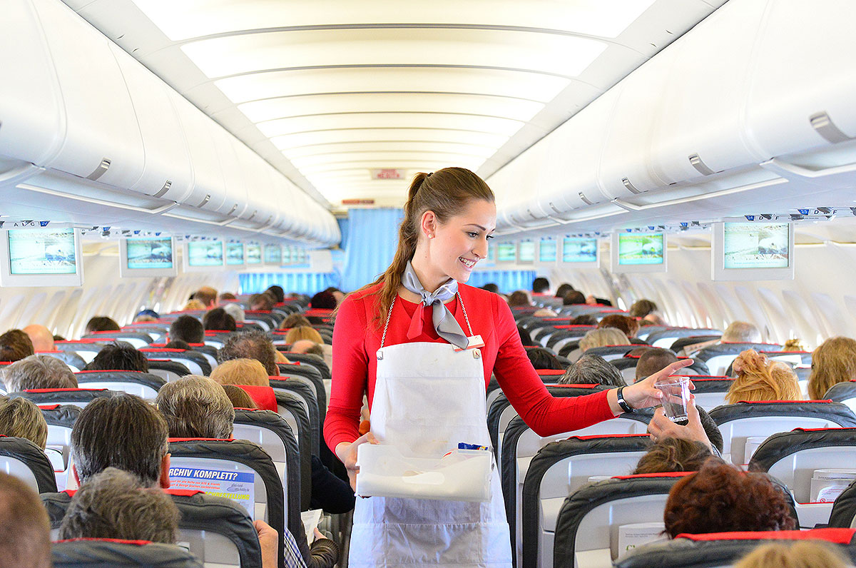 Austrian Airlines kabinepersonale (foto: Austrian Airlines)