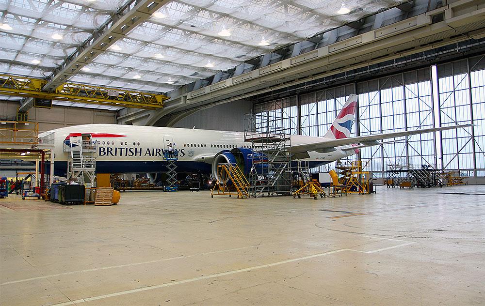 BA-Hangar