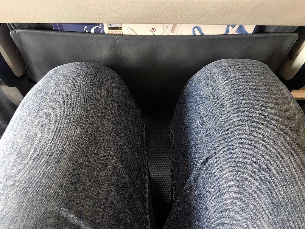 Belavia benplads leg room