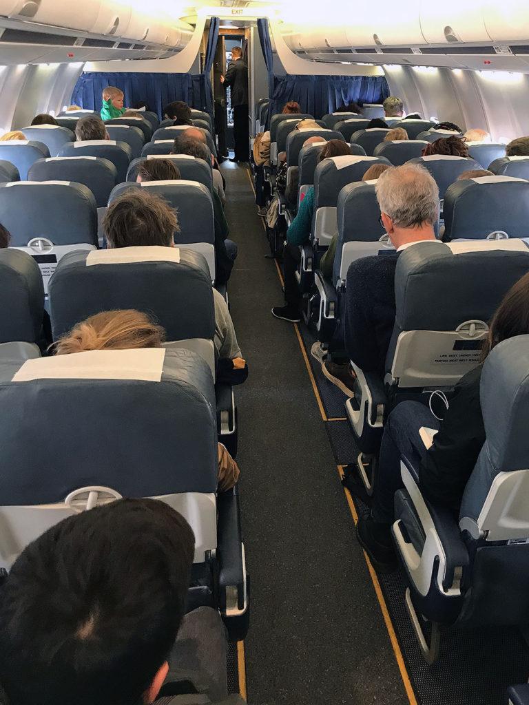 Belavia Economy Class Boeing 737