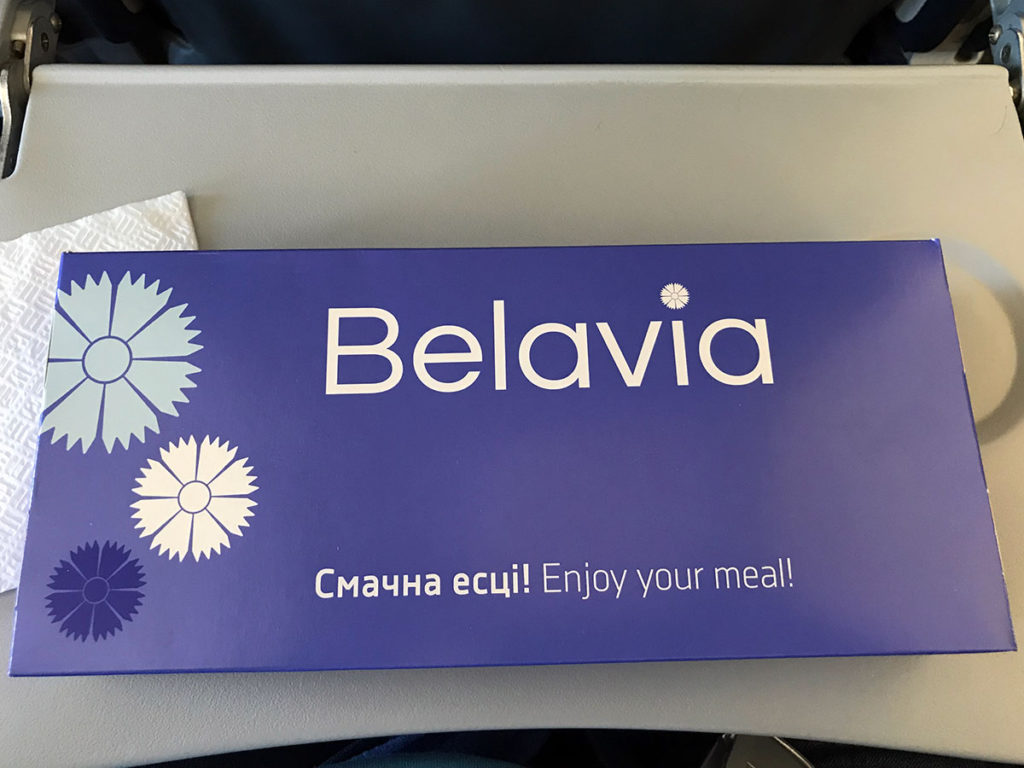 Belavia Economy Class box