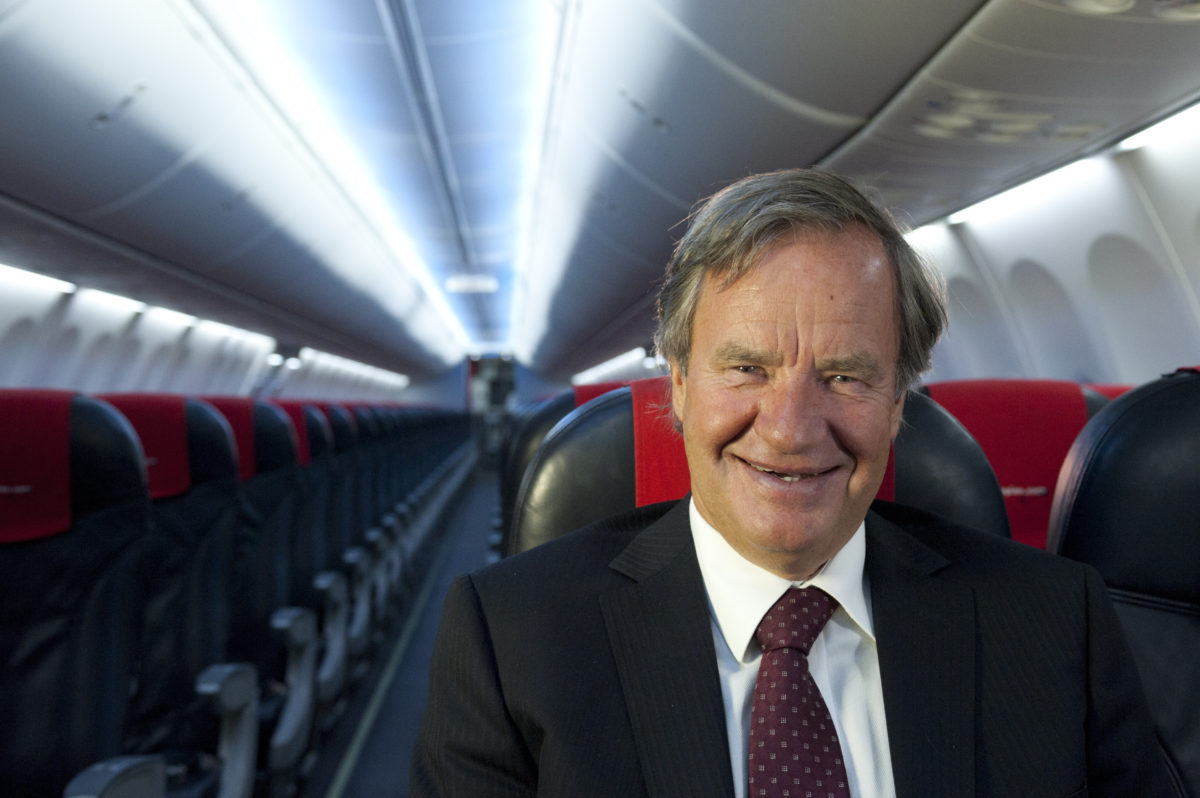 Norwegian grundlægger Bjørn Kjos (foto: Norwegian / PR)