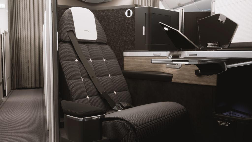 På den nye British Airways Business Class får hver passagerer egen dør (foto: British Airways)