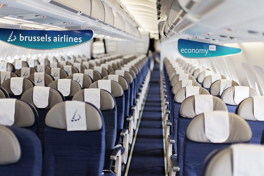 Brussels Airlines Economy Plus 3