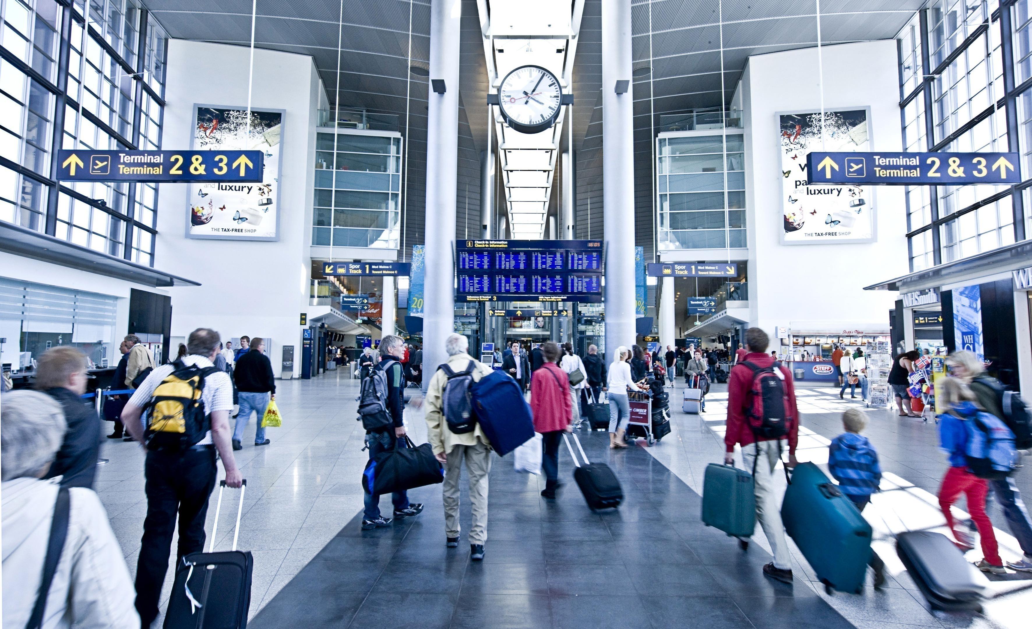 Check-in i terminal 3 i Københavns Lufthavn (foto: Københavns Lufthavn)