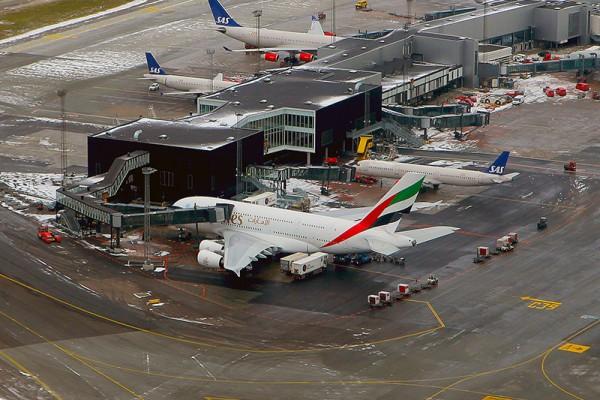 Københavns Lufthavn set fra luften (Foto: Kenneth Karskov)