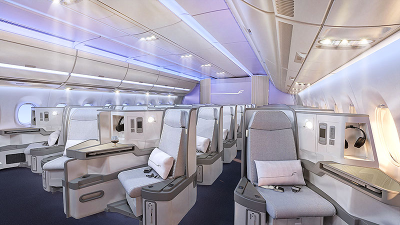 Finnair-A350-XWB-Business-class-cabin