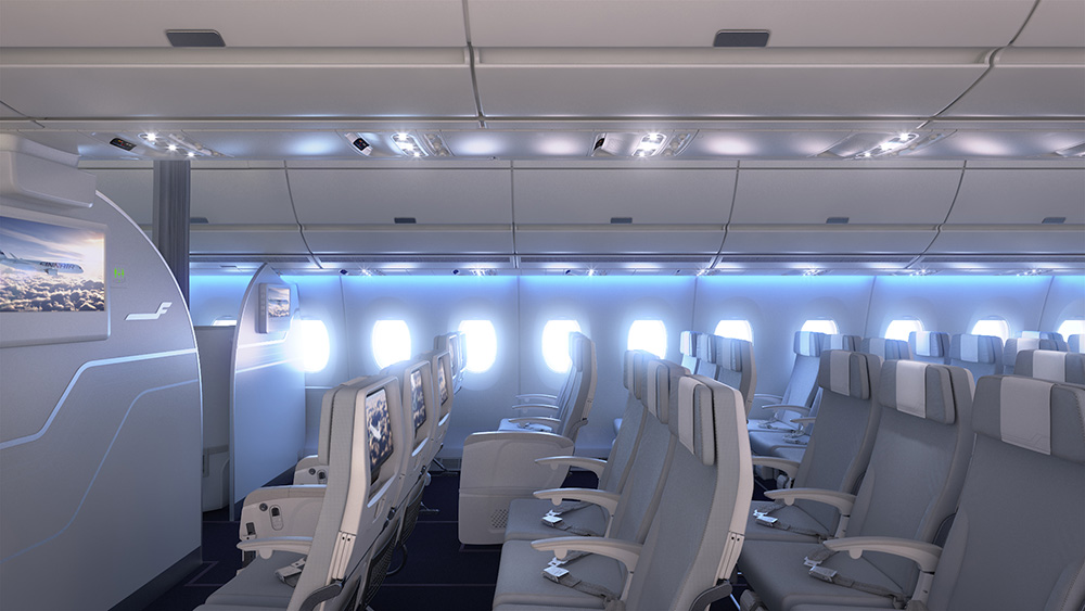 Finnair A350 XWB Economy Class Cabin 03 LR