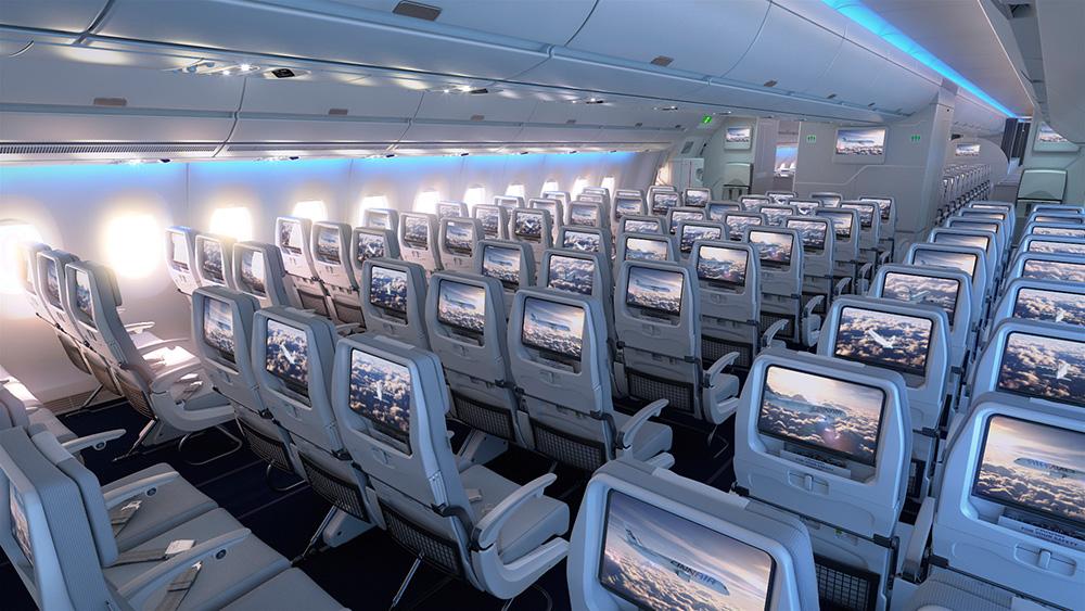 Finnair A350 XWB Economy Class Cabin 04 LR