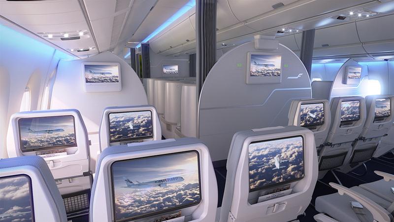 Finnair A350 XWB Economy Class