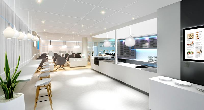 Finnair lounge 3