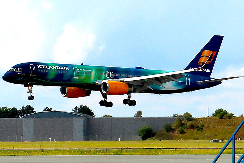 Icelandair Boeing 757 (foto: Kenneth Karskov)