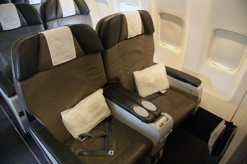 Icelandair-Saga Class cabin - foto Kenneth Karskov.jpg