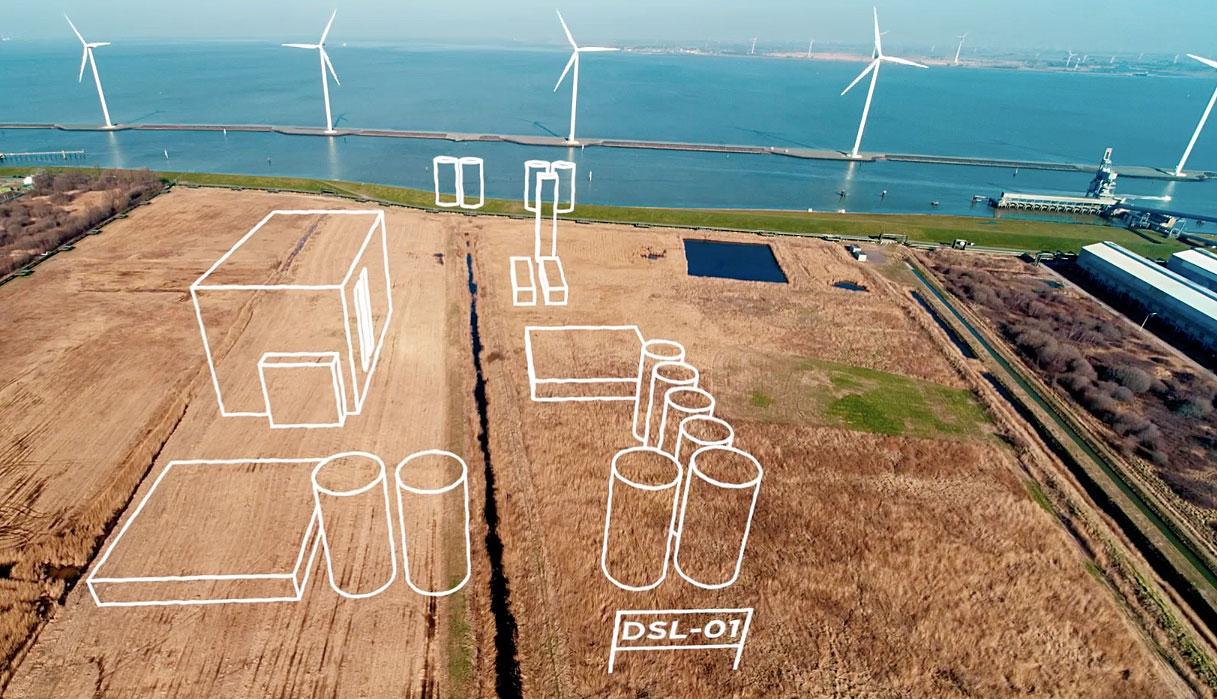KLM biobrændstof anlæg