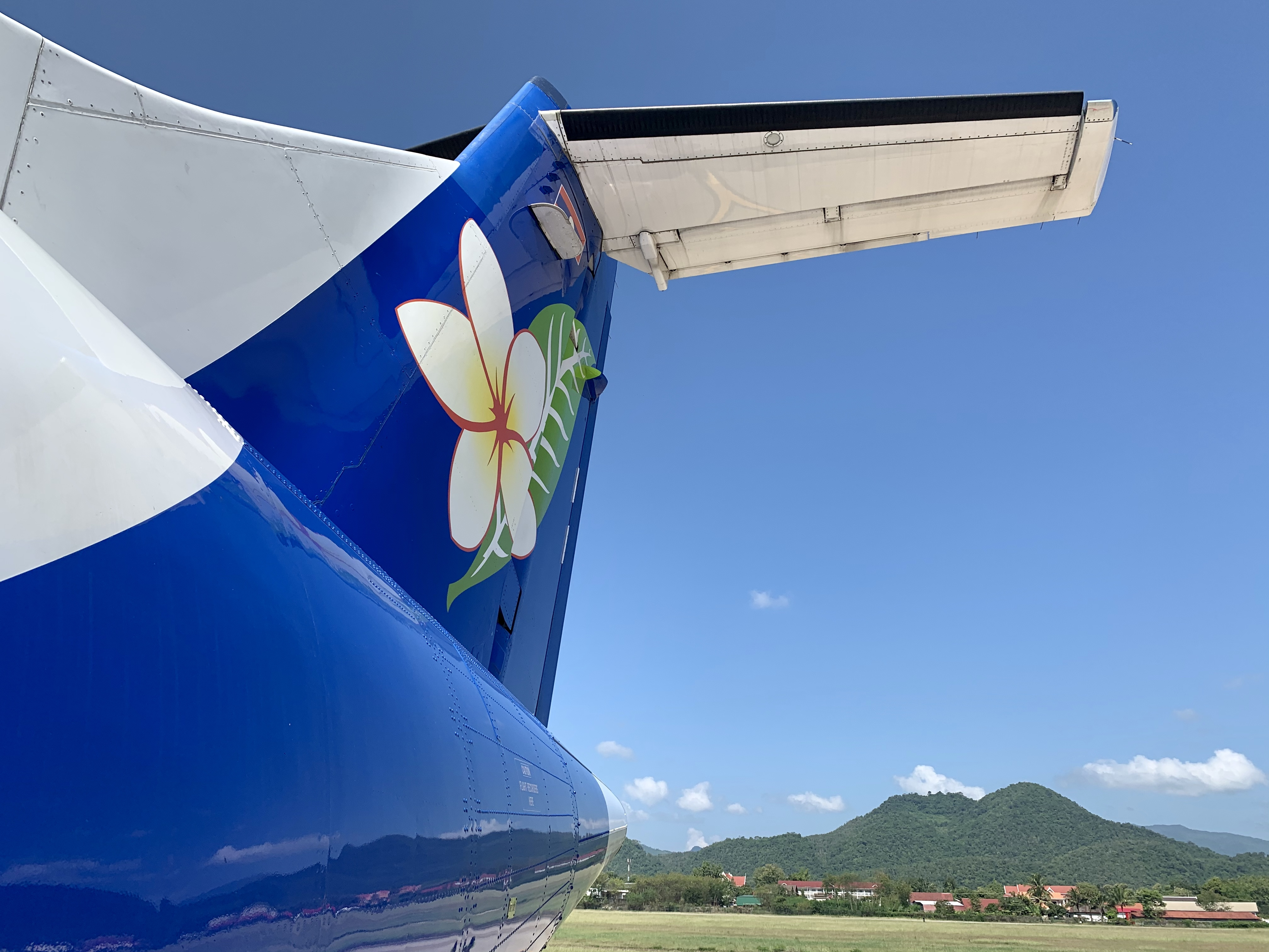 Lao Airlines er det nationale flyselskab i det sydøstasiatiske land Laos (foto: Kenneth Karskov)