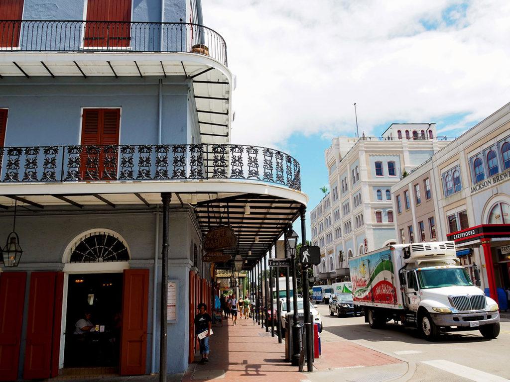 Franske kvarter New Orleans