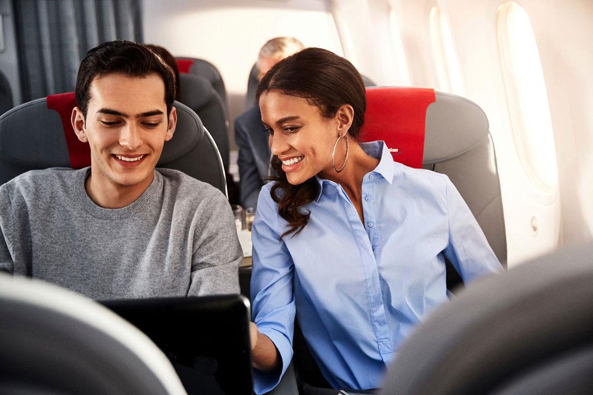 Norwegian har gratis internet ombord på flyet (foto: Norwegian)