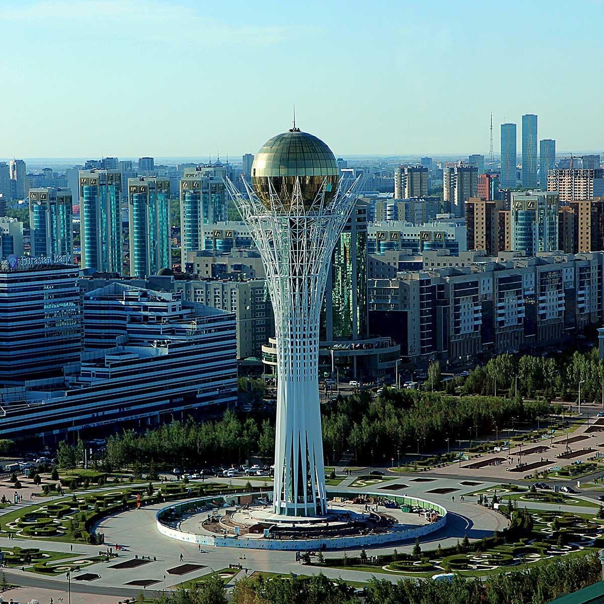 Bayterek Tower Nur-Sultan Kasakhstan