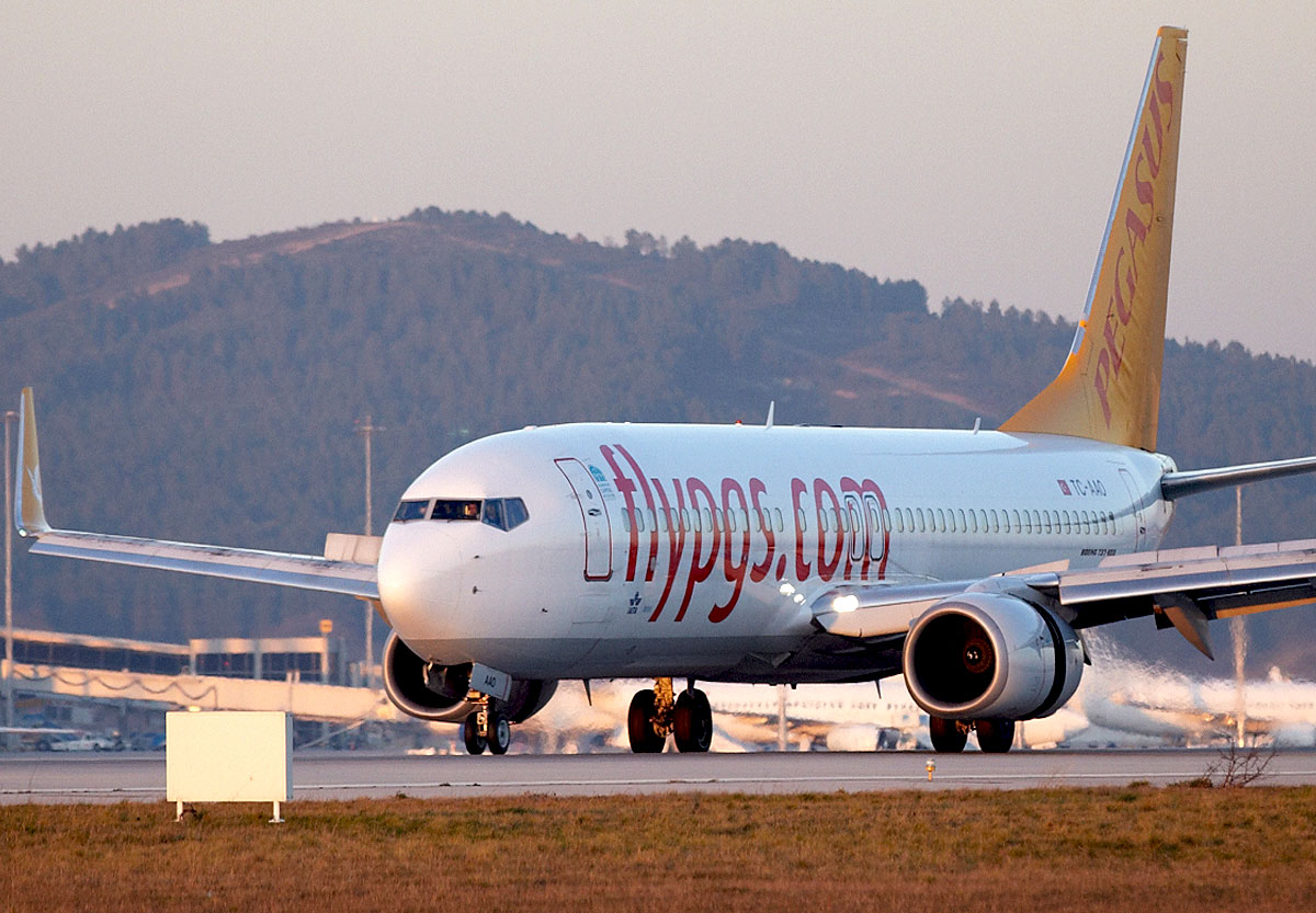 Pegasus Airlines Boeing 737-800 (photo: Pegasus Airlines / PR)
