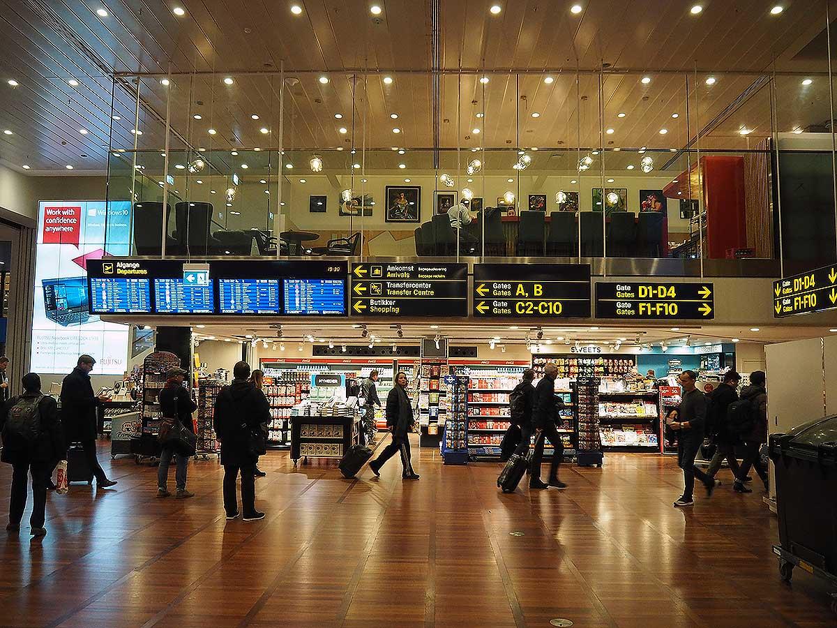 Terminal 3 i Københavns Lufthavn (foto: Kenneth Karskov)
