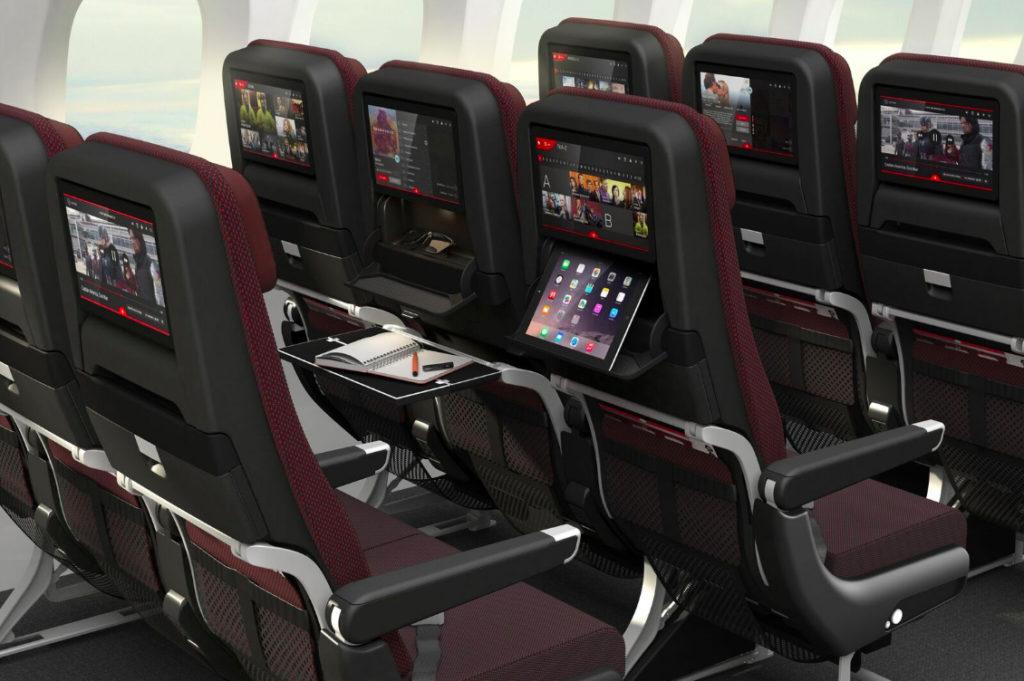 Qantas Economy Class på selskabets Boeing 787-9 (foto: Qantas / PR)