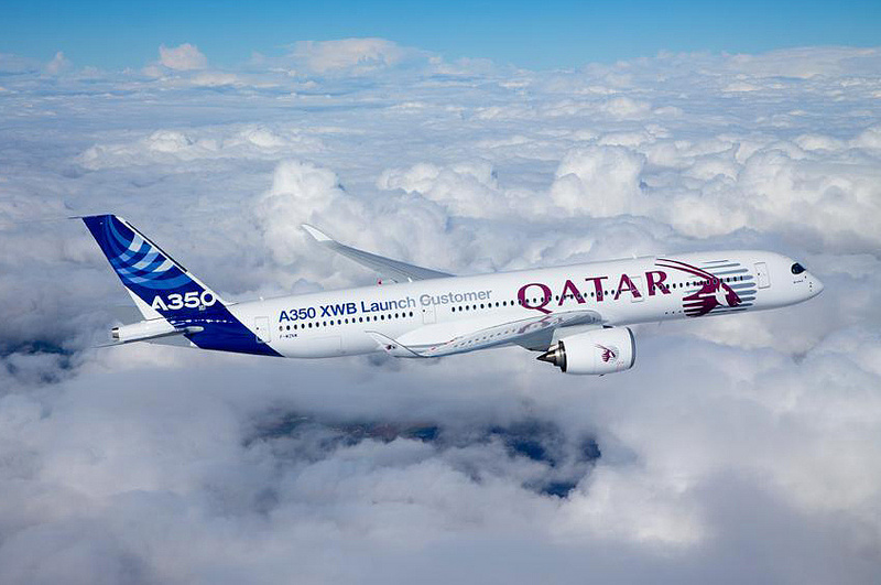 Qatar Airways Airbus A350 WXB