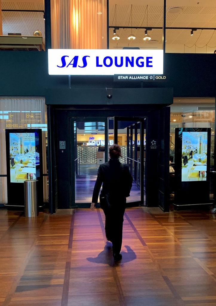 SAS Lounge CPH