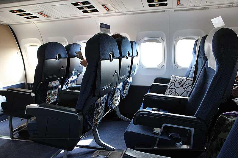 sæder i fly