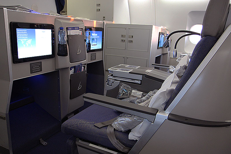 Brussels Airlines Long Haul Business Class seat
