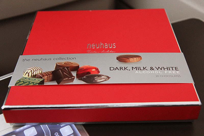 Brussels Airlines Business Class New York Gift Neuhaus