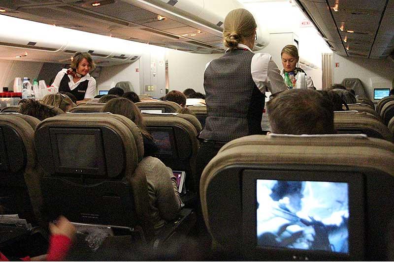 SWISS Economy Class cabin long-haul