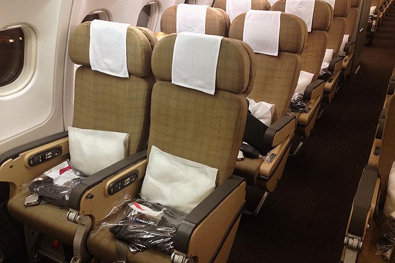 SWISS LX178 Economy Class Seat