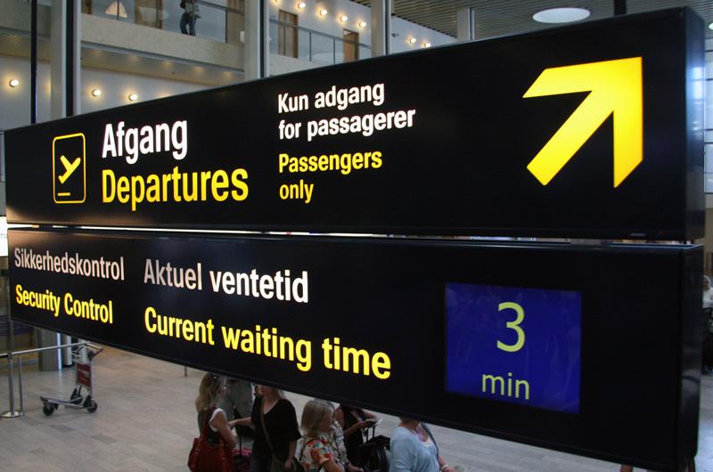 afgang kastrup lufthavn