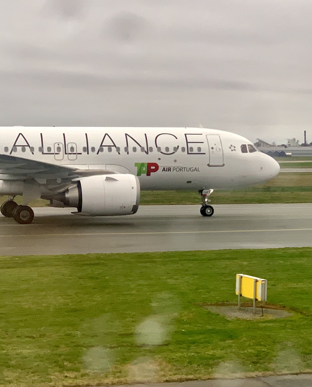 Det portugisiske flyselskab TAP Air Portugal i Københavns Lufthavn (foto: Kenneth Karskov)