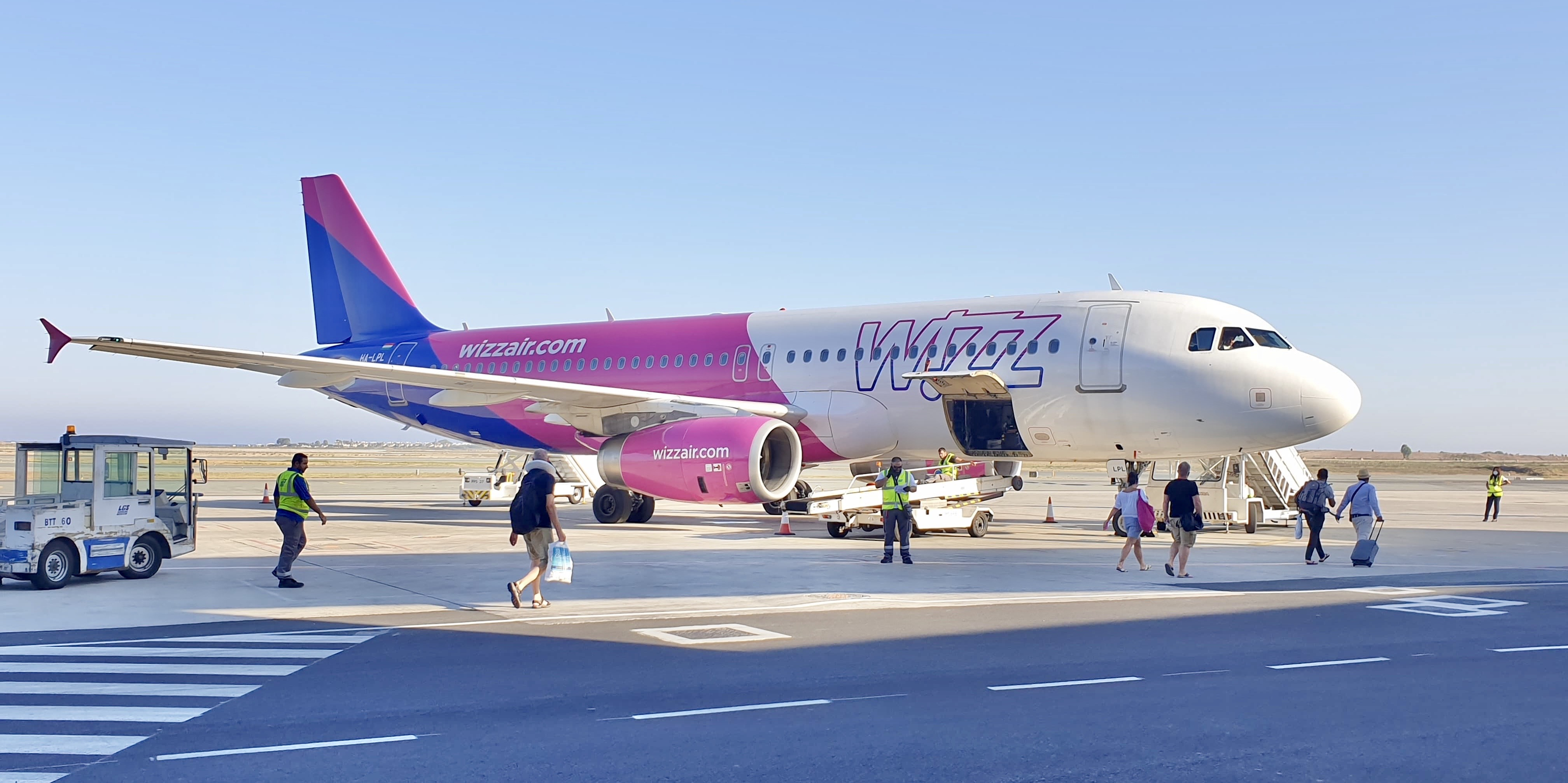 Wizz Air fly (foto: Per Heide)