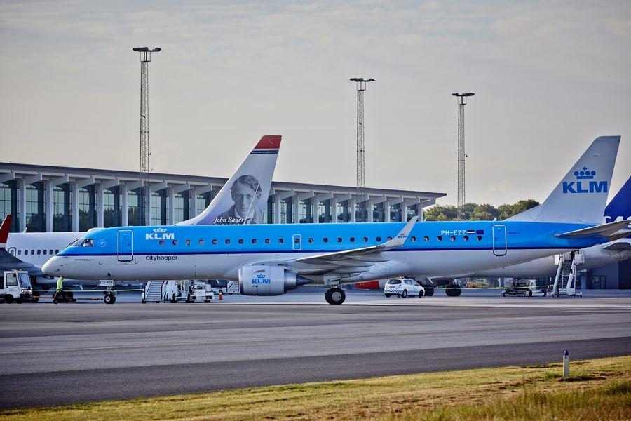 KLM fly i Aalborg Lufthavn (Foto: Aalborg Lufthavn / PR)